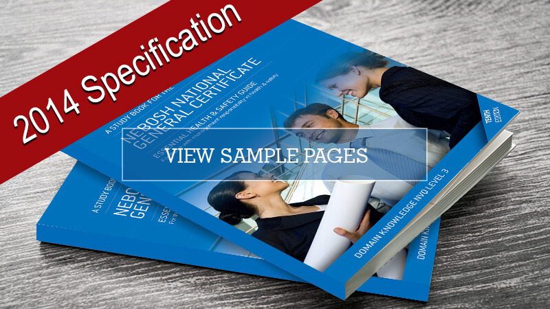 National General Certificate Study Book 2014 specification