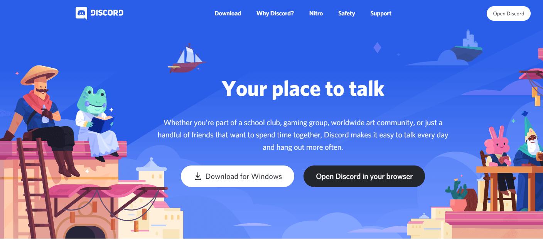 Discord Webpage
